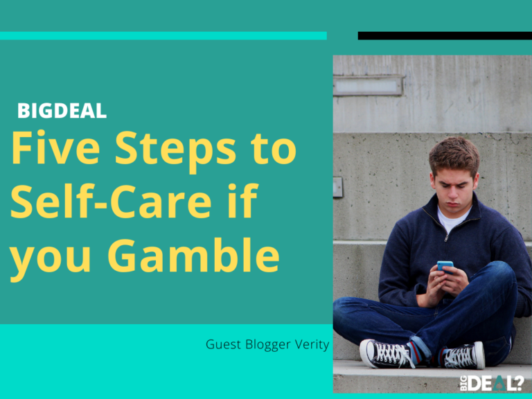 Five Steps to Self-Care if You Gamble